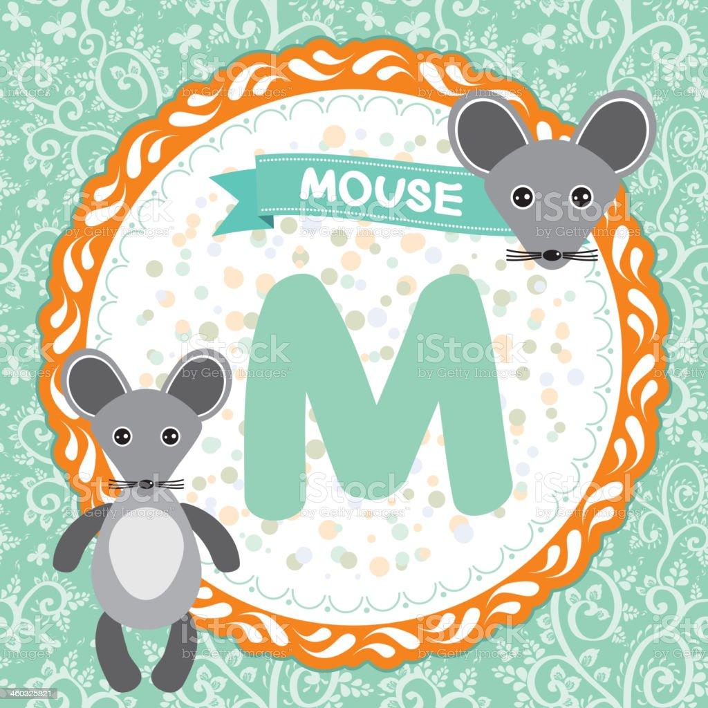 abc アニマルズ m はマウスます 子ども英語までつながっているようです