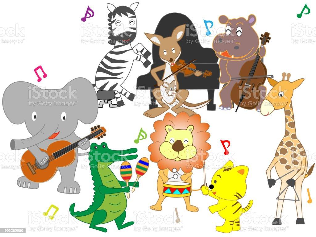 動物音楽 - イベントプランナーのベクターアート素材や画像を多数ご用意