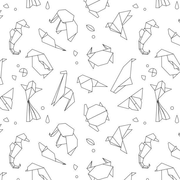 Royalty Free Origami Giraffe Clip Art, Vector Images ... - photo#23