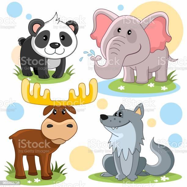 Zwierzęta Część 3 - Stockowe grafiki wektorowe i więcej obrazów Część ciała zwierzęcia