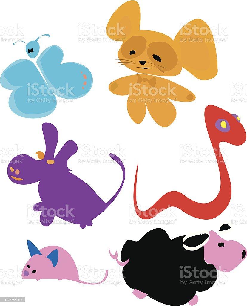 animals puppet royalty-free stock vector art
