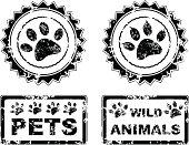 animals stamp