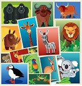 Animals Stamps