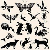 Animals Stencils