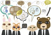 Communication of Business Animals Team