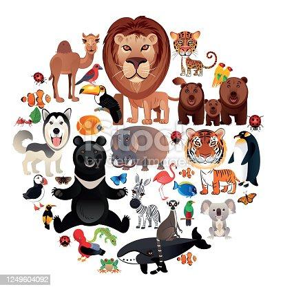 Vector World Animals