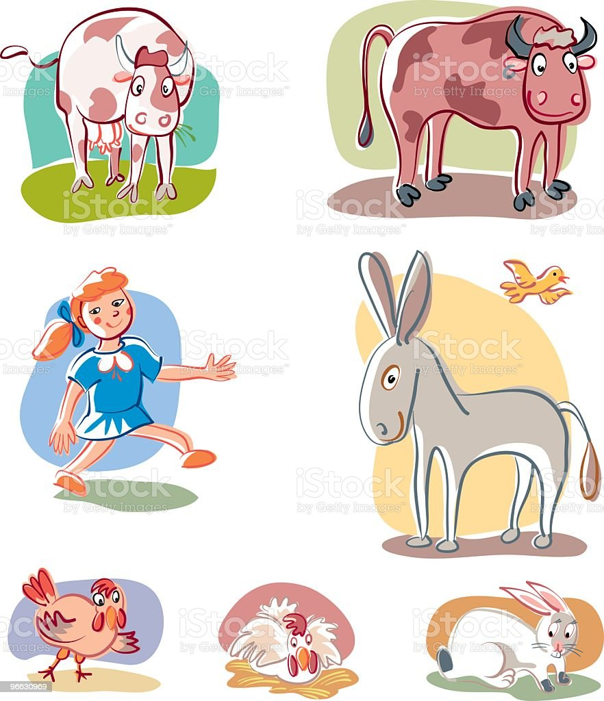 Animals royalty-free animals stock vector art & more images of animal
