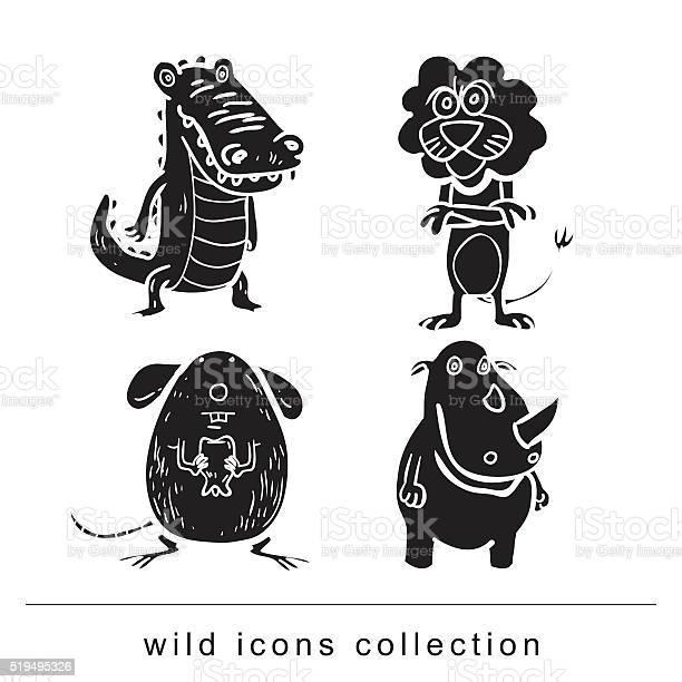 Animals vector illustration vector id519495326?b=1&k=6&m=519495326&s=612x612&h=r2fzn2q6ofrc7zptnlxcjpltyox9rwtjoo  iiudwey=