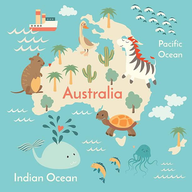 Best Australasia Illustrations, Royalty-Free Vector