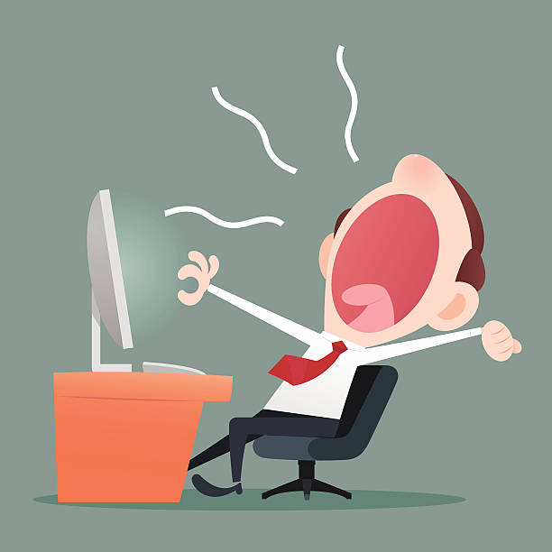Yawning Clip Art, Vector Images  Illustrations - Istock