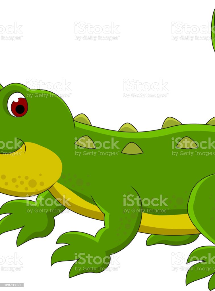 Animated cartoon crocodile smiling stock vector art more - Image crocodile dessin ...