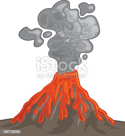 how to make fake smoke for a volcano