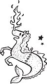 dragon horse fish animorph.