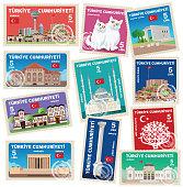Vector Ankara Stamps