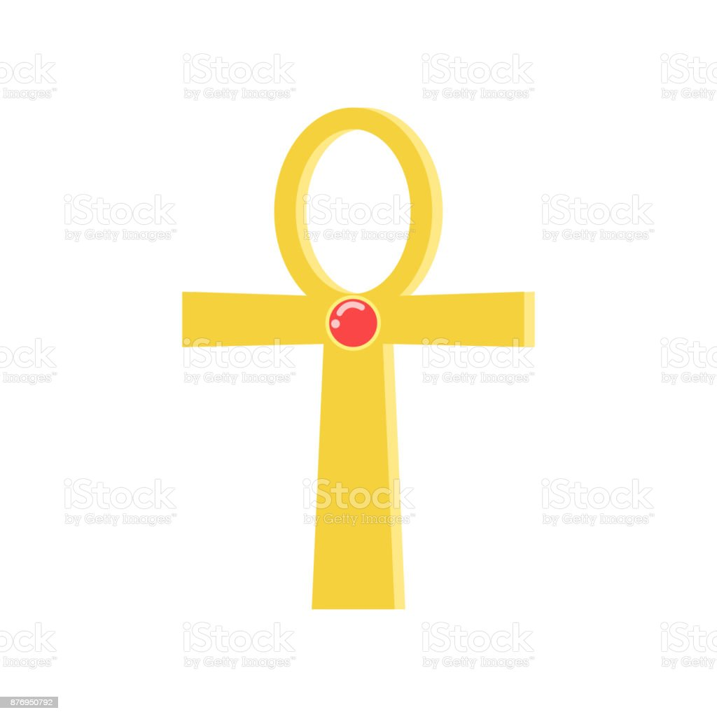 Ankh Cross Religious Sign Of The Ancient Egyptian Cross Symbol Of
