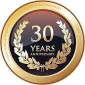 Anniversary Award - Thirty Years