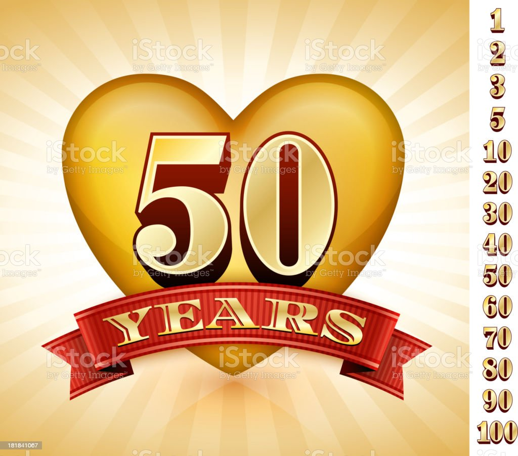 Anniversary Badges Red and Gold Collection Background royalty-free anniversary badges red and gold collection background stock vector art & more images of 20-24 years