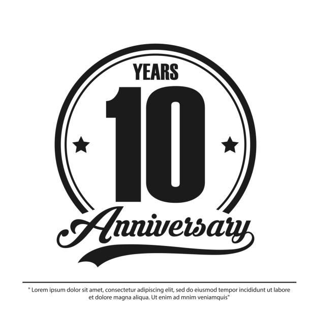 10 Year Anniversary Png & Free 10 Year Anniversary.png Transparent Images  #26914 - PNGio