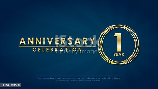free 1st anniversary clipart in ai svg eps or psd free 1st anniversary clipart in ai svg eps or psd