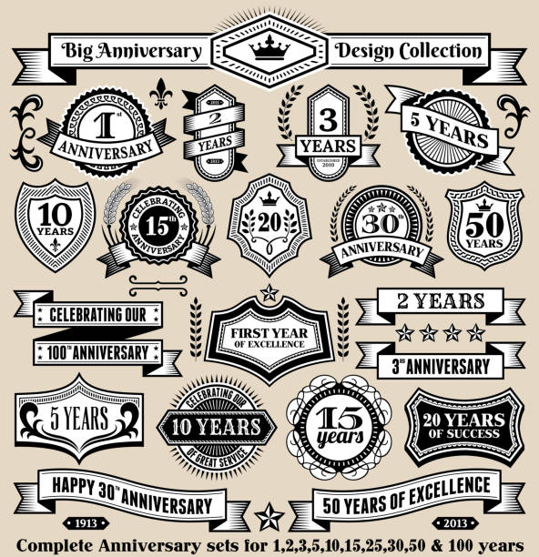 Royalty Free Happy Anniversary Work Clip Art Vector Images - Best of free clip art 50th anniversary design
