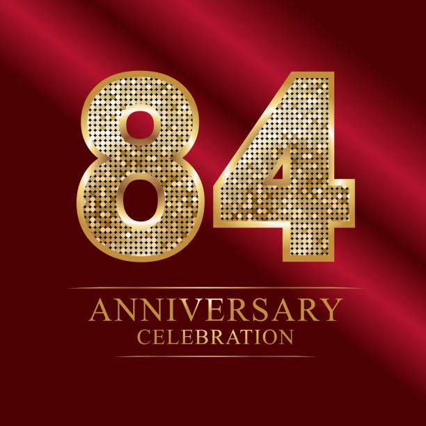 84 anniversary disco style - oscars stock illustrations, clip art, cartoons, & icons