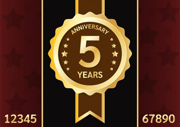 значок юбилейной золотой пластины. - uae national day stock illustrations