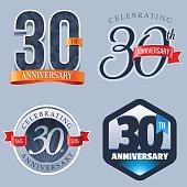 Anniversary Logo - 30 Years