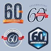 Anniversary Logo - 60 Years