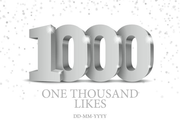 Download Number 1000 Illustrations, Royalty-Free Vector Graphics ...