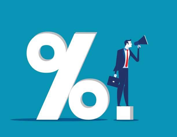 Announcement message. Concept business success vector illustration. vector art illustration