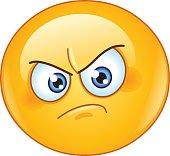 istock Annoyed emoticon 505826084