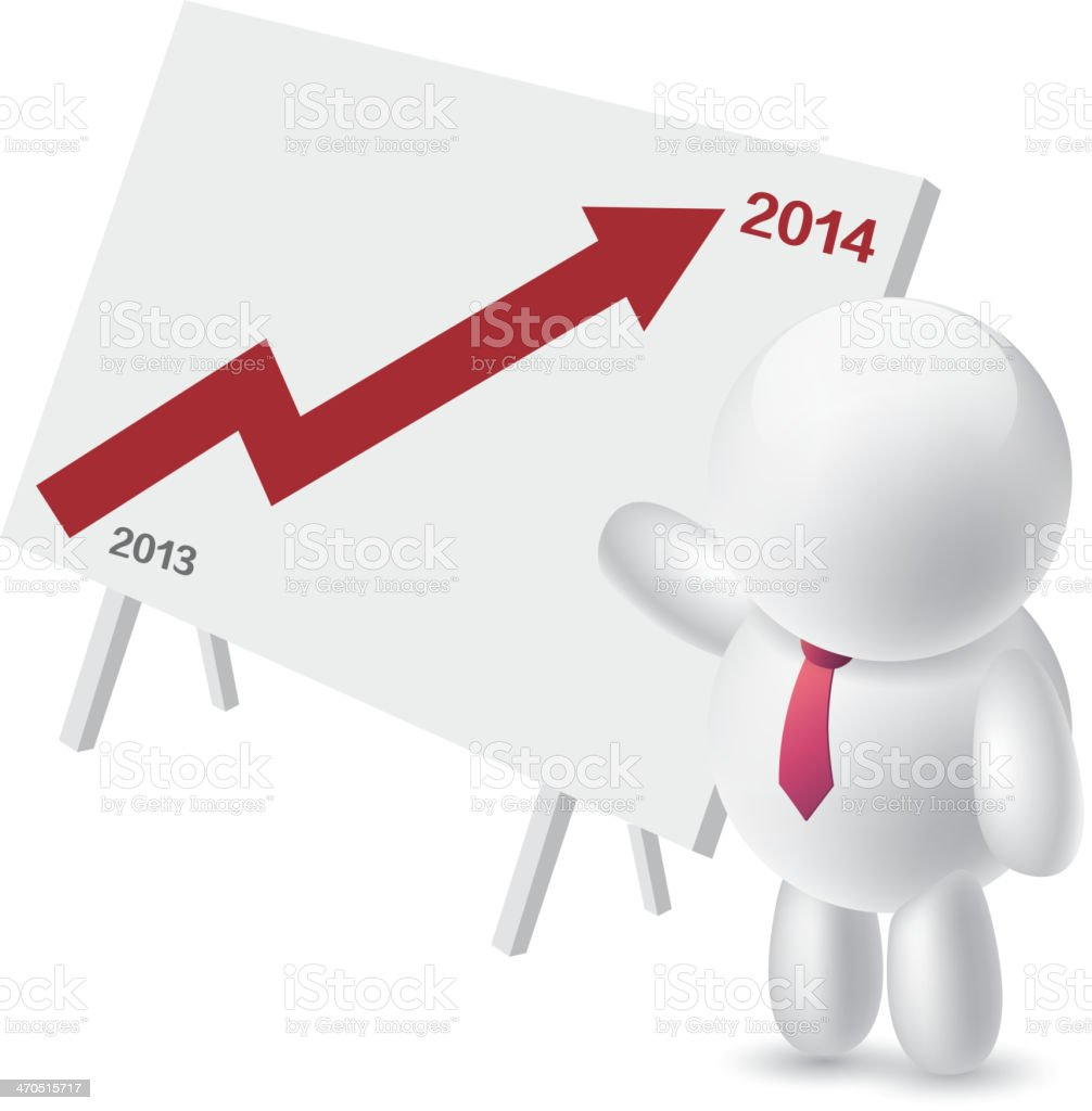 Annual plan vector art illustration