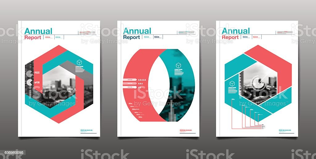 Annual Report Future Business Template Layout Design