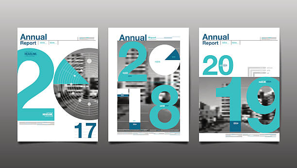 annual report 2017,2018,2019,future, business vector art illustration