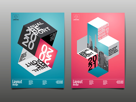 annual report 2020, 2021, polygon, geometric, template layout design, cover book. vector illustration,presentation abstract flat background.