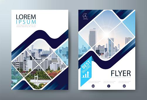 アニュアルレポートパンフレットチラシデザインリーフレットプレゼンテーションブックカバーテンプレートa4 サイズレイアウト - イラストレーションのベクターアート素材や画像を多数ご用意