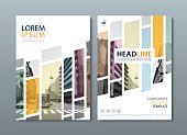 Annual report brochure flyer design template, Leaflet cover presentation, book cover, layout in A4 size