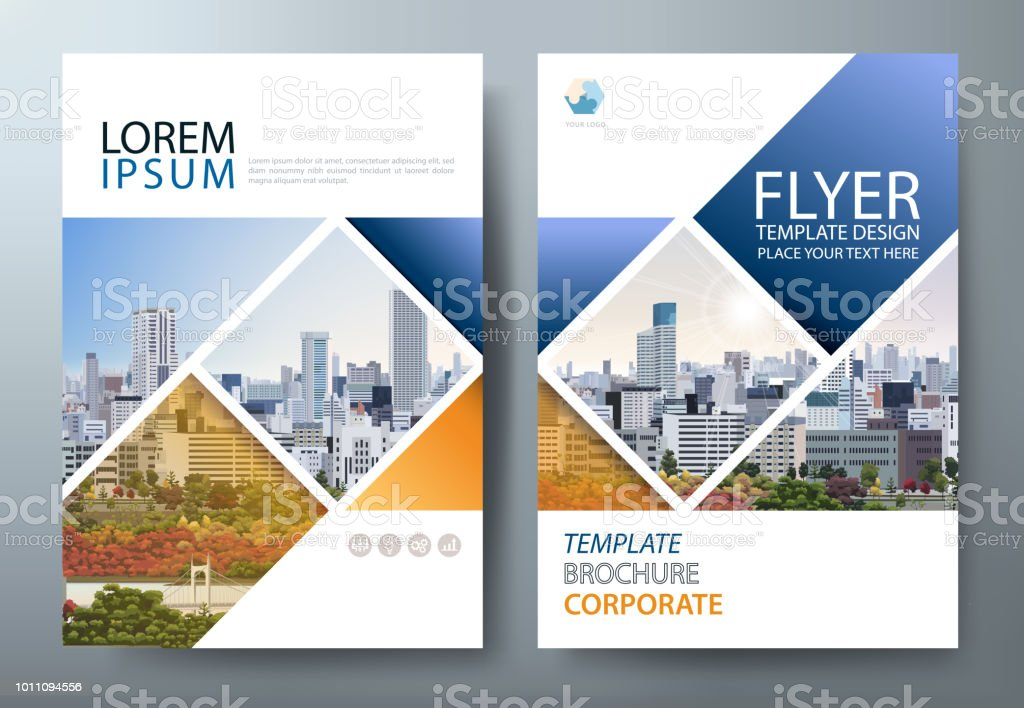Annual report brochure flyer design template vector, Leaflet presentation, book cover. royalty-free annual report brochure flyer design template vector leaflet presentation book cover stock illustration - download image now
