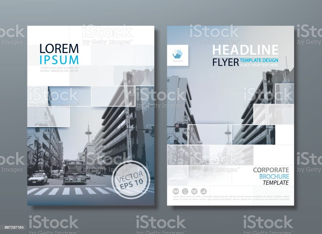 Annual report brochure flyer design template vector, Leaflet cover presentation, book cover. royalty-free stock vector art