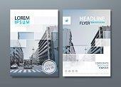 Annual report brochure flyer design template vector, Leaflet cover presentation, book cover. vector
