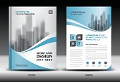 Annual report cover, Business brochure flyer template, Blue cover design, Book cover, Magazine, advertisement, infographic vectorusiness flyer template, advertisement, infographic vector