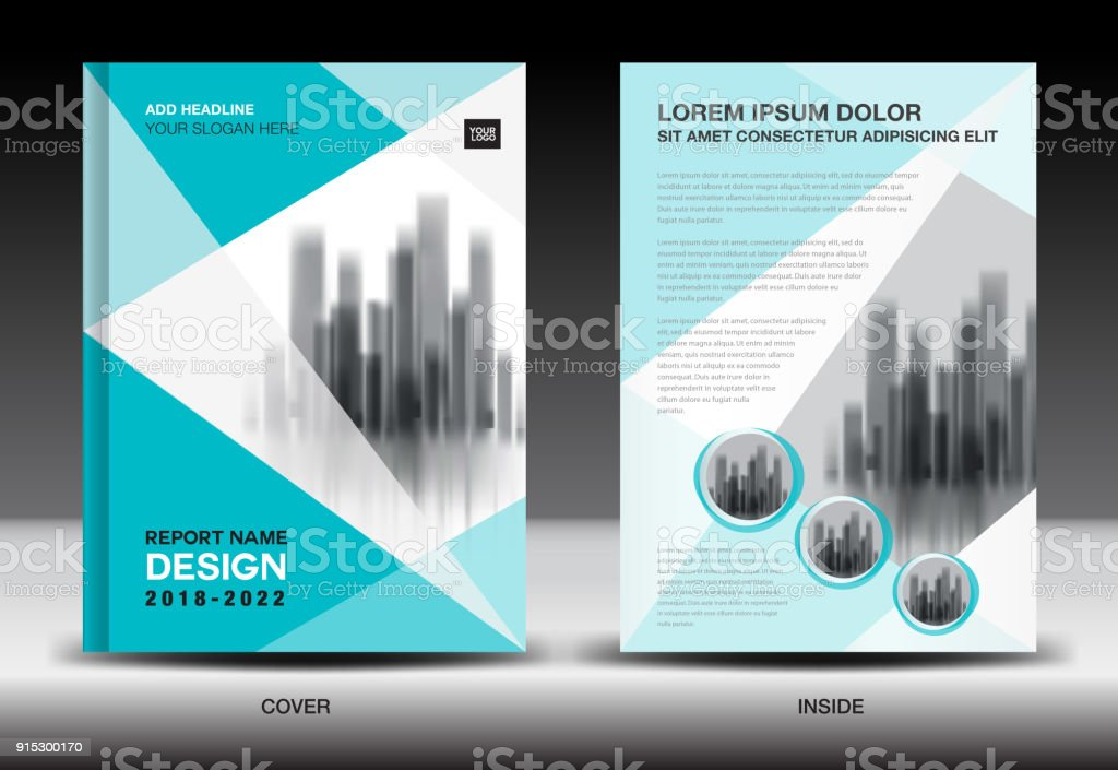 Annual report cover, Business brochure flyer template, Blue cover design, Book cover, Magazine, advertisement, infographic vector royalty-free annual report cover business brochure flyer template blue cover design book cover magazine advertisement infographic vector stock illustration - download image now