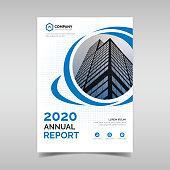 Company annual report cover design