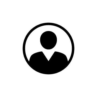 Anonymous gender neutral face avatar. Incognito head silhouette. stock illustration