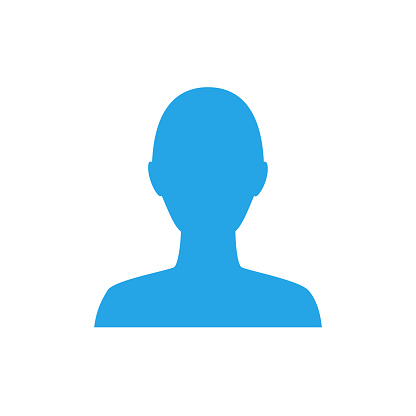 Anonymous gender neutral face avatar. Incognito head silhouette.