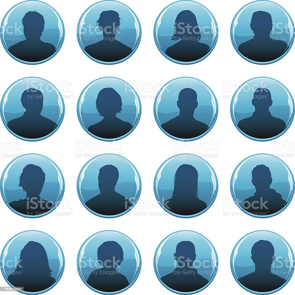 Anonymous profile icons royalty-free anonymous profile icons stock vector art & more images of adult
