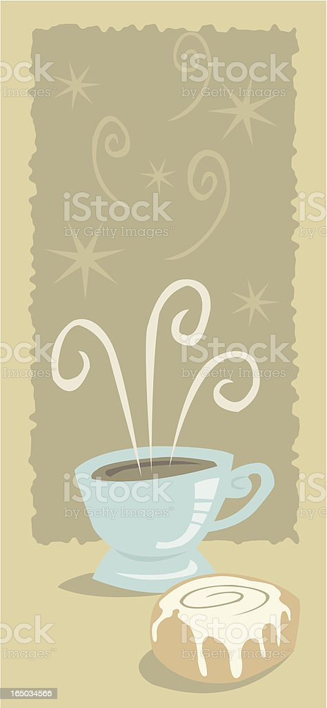 Another Cup of Coffee royalty-free another cup of coffee stock vector art & more images of baked pastry item