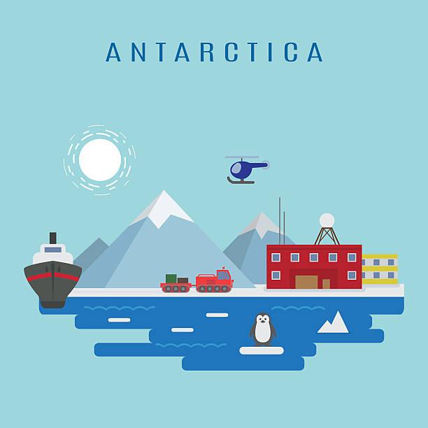 南極の風景 - 南極旅行点のイラスト素材/クリップアート素材/マンガ素材/アイコン素材