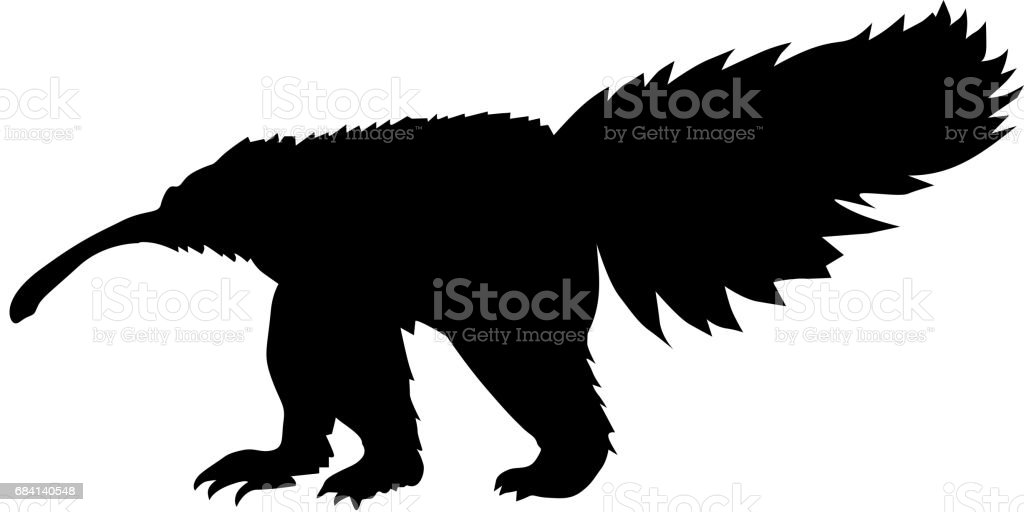 anteater royalty free anteater stockvectorkunst en meer beelden van bont
