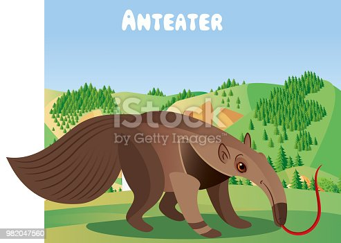 Vector Anteater